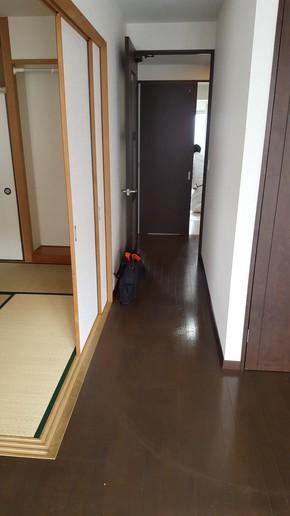 マンション一室リフォーム(床・玄関編)|佐賀県鳥栖市在住のお客様のビフォー画像