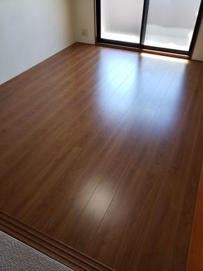 畳からフローリングへのリフォーム|福岡市南区在住のお客様のアフター画像