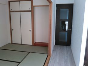 マンション一室リフォーム(床・玄関編)|佐賀県鳥栖市在住のお客様のアフター画像