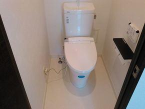 マンション一室リフォーム(トイレ・洗面台編)|佐賀県鳥栖市在住のお客様のアフター画像