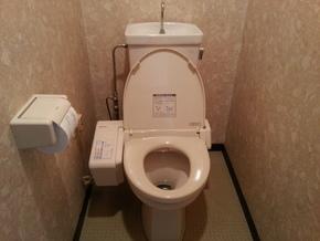 トイレ(壁排水)リフォーム|福岡市博多区在住のお客様のビフォー画像
