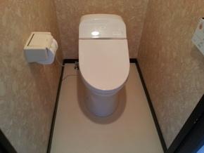 トイレ(壁排水)リフォーム|福岡市博多区在住のお客様のアフター画像