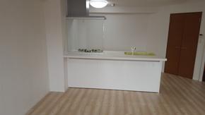 キッチン・床の変更リフォーム|筑紫野市在住のお客様のアフター画像