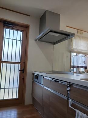 キッチンと横収納間取り変更リフォーム|遠賀郡岡垣町在住のお客様のアフター画像