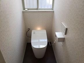 古いトイレを交換リフォーム|粕屋郡須恵町在住のお客様のアフター画像