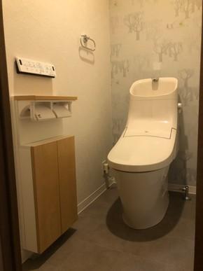 トイレ交換リフォーム|福岡市博多区在住のお客様のアフター画像