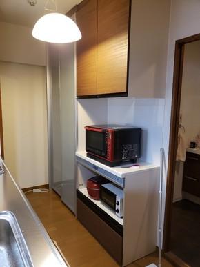 キッチン収納取り付けリフォーム|福岡市博多区在住のお客様のアフター画像