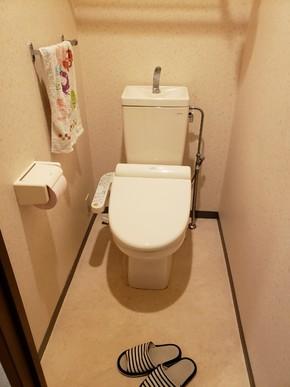 トイレ交換リフォーム|福岡市博多区在住のお客様のビフォー画像