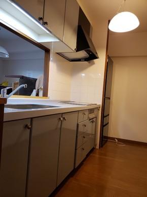キッチン交換リフォーム|福岡市博多区在住のお客様のビフォー画像
