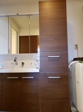 洗面台の交換リフォーム|福岡市博多区在住のお客様のアフター画像