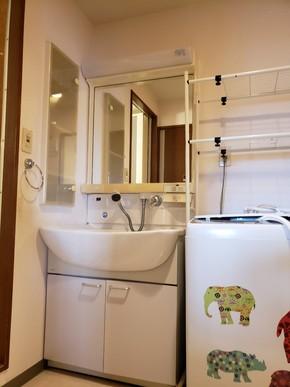 洗面台の交換リフォーム|福岡市博多区在住のお客様のビフォー画像