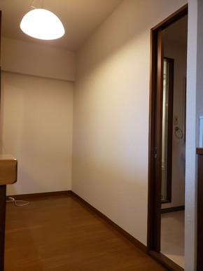 キッチン収納取り付けリフォーム|福岡市博多区在住のお客様のビフォー画像