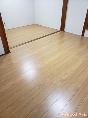和室(畳)から洋室へのリフォーム|志免町在住のお客様のアフター画像