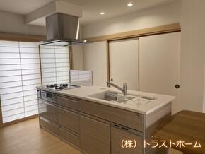 福岡市東区で和室をキッチン空間へリフォームしました。のアフター画像
