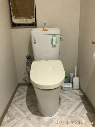 福岡市南区でトイレ床やお風呂内のリフォームをご依頼いただきました♪のアフター画像