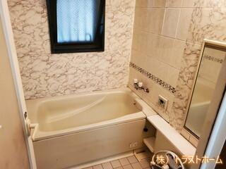 春日市でマンションのバスルームを丸ごとリフォーム♪のビフォー画像