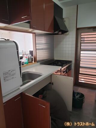 トレーシアへキッチンリフォーム|福岡市東区在住のT様のビフォー画像