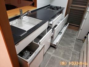 トレーシアへキッチンリフォーム|福岡市東区在住のT様のアフター画像